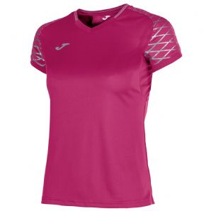 JOMA T-Shirt Open Flash Pink S/S Women's Fit - Adults